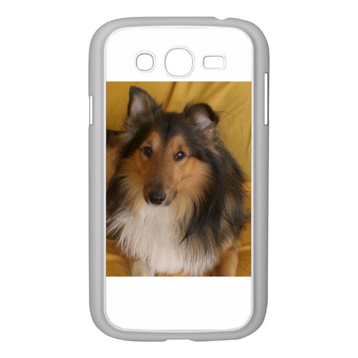Shetland Sheepdog Samsung Galaxy Grand DUOS I9082 Case (White)