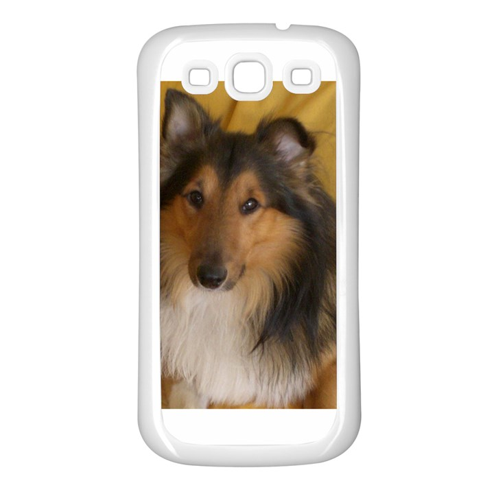 Shetland Sheepdog Samsung Galaxy S3 Back Case (White)