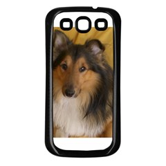 Shetland Sheepdog Samsung Galaxy S3 Back Case (Black)