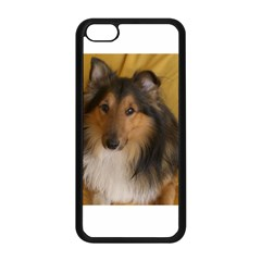 Shetland Sheepdog Apple iPhone 5C Seamless Case (Black)