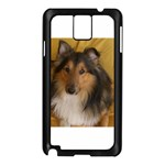 Shetland Sheepdog Samsung Galaxy Note 3 N9005 Case (Black) Front
