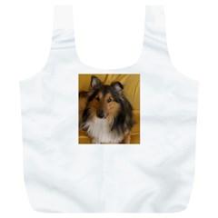 Shetland Sheepdog Full Print Recycle Bags (L)