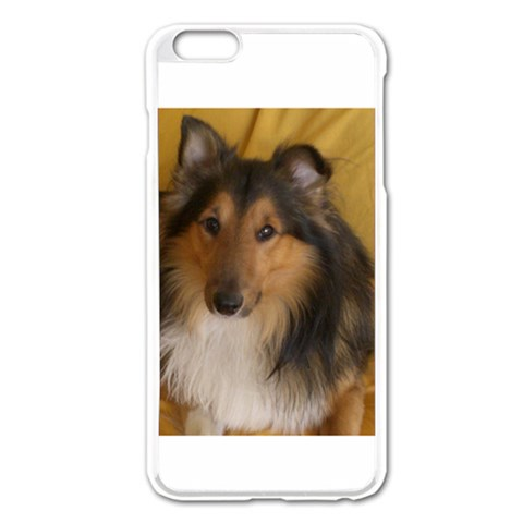 Shetland Sheepdog Apple iPhone 6 Plus/6S Plus Enamel White Case