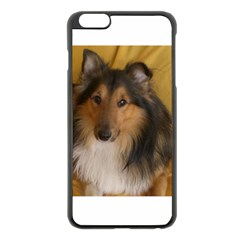 Shetland Sheepdog Apple iPhone 6 Plus/6S Plus Black Enamel Case
