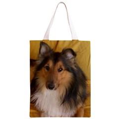 Shetland Sheepdog Classic Light Tote Bag
