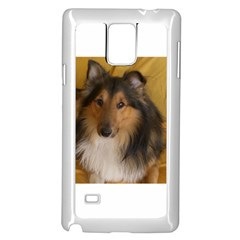 Shetland Sheepdog Samsung Galaxy Note 4 Case (White)