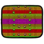 A Wonderful Rainbow And Stars Netbook Case (Large) Front