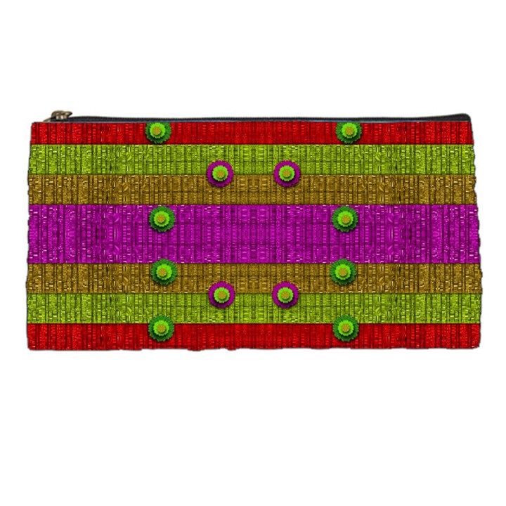 A Wonderful Rainbow And Stars Pencil Cases