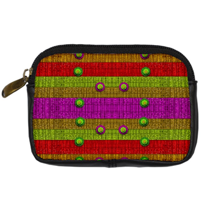 A Wonderful Rainbow And Stars Digital Camera Cases
