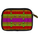 A Wonderful Rainbow And Stars Digital Camera Cases Back