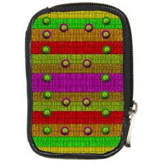 A Wonderful Rainbow And Stars Compact Camera Cases