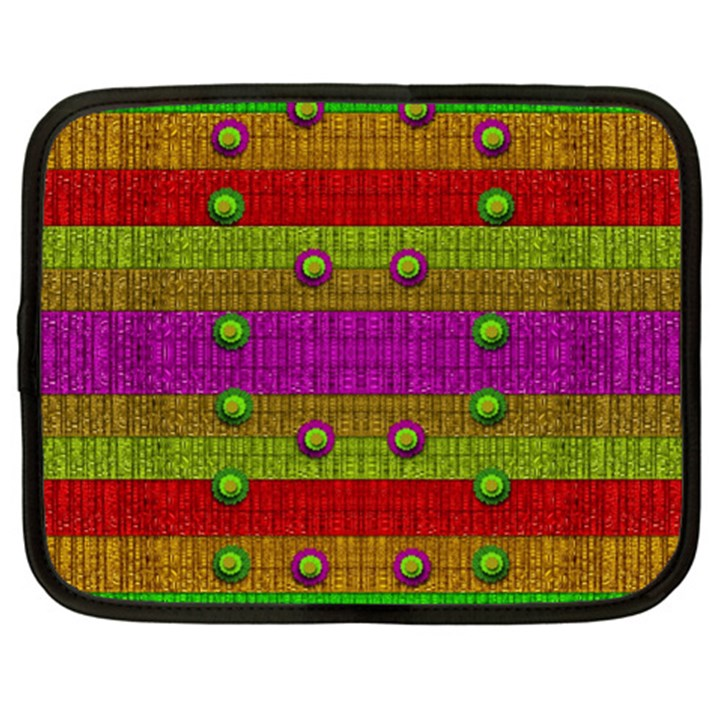 A Wonderful Rainbow And Stars Netbook Case (XXL)