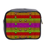 A Wonderful Rainbow And Stars Mini Toiletries Bag 2-Side Back