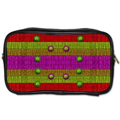 A Wonderful Rainbow And Stars Toiletries Bags 2 Side