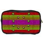 A Wonderful Rainbow And Stars Toiletries Bags 2-Side Front