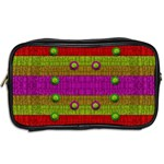 A Wonderful Rainbow And Stars Toiletries Bags 2-Side Back