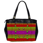A Wonderful Rainbow And Stars Office Handbags (2 Sides)  Back