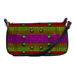A Wonderful Rainbow And Stars Shoulder Clutch Bags