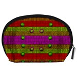 A Wonderful Rainbow And Stars Accessory Pouches (Large)  Back
