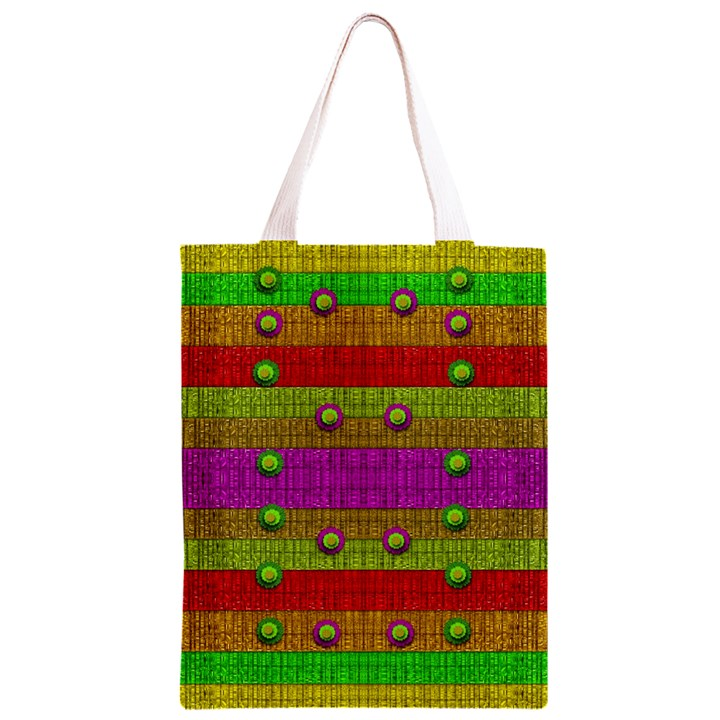 A Wonderful Rainbow And Stars Classic Light Tote Bag