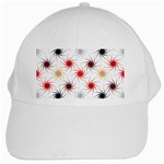 Pearly Pattern White Cap Front