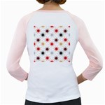 Pearly Pattern Girly Raglans Back