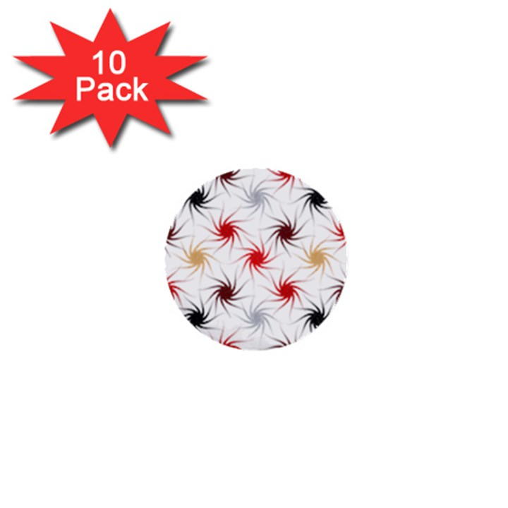 Pearly Pattern 1  Mini Buttons (10 pack)