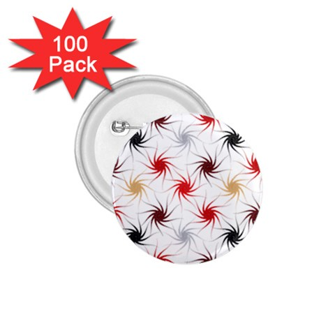 Pearly Pattern 1.75  Buttons (100 pack)