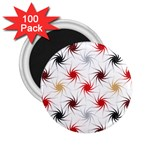 Pearly Pattern 2.25  Magnets (100 pack)  Front