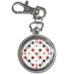 Pearly Pattern Key Chain Watches