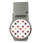 Pearly Pattern Money Clips (Round)  Front