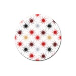 Pearly Pattern Magnet 3  (Round) Front