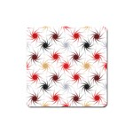 Pearly Pattern Square Magnet Front