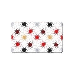Pearly Pattern Magnet (Name Card)