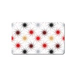 Pearly Pattern Magnet (Name Card) Front