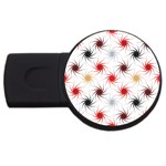 Pearly Pattern USB Flash Drive Round (1 GB)  Front