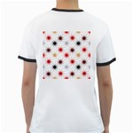 Pearly Pattern Ringer T-Shirts Back