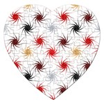 Pearly Pattern Jigsaw Puzzle (Heart) Front