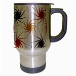 Pearly Pattern Travel Mug (Silver Gray) Right