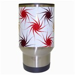 Pearly Pattern Travel Mugs (White) Center