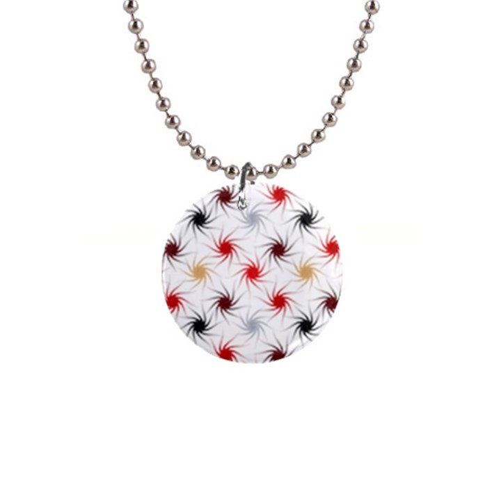 Pearly Pattern Button Necklaces