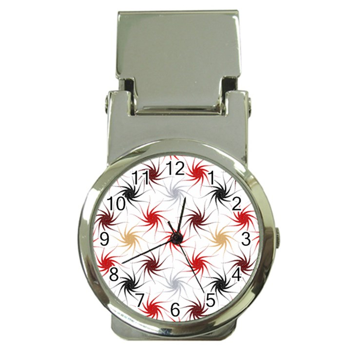 Pearly Pattern Money Clip Watches