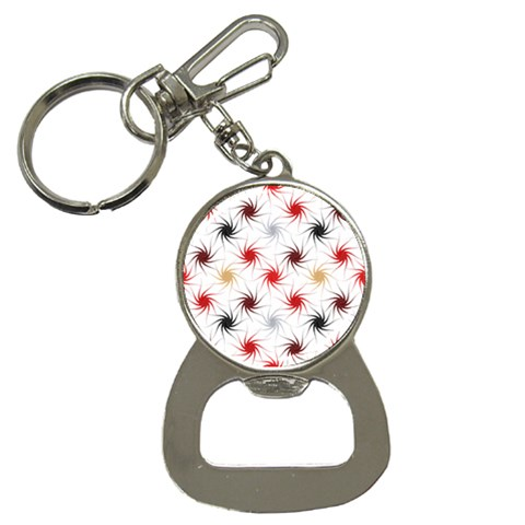Pearly Pattern Bottle Opener Key Chains