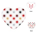 Pearly Pattern Playing Cards (Heart)  Front