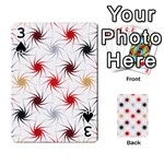 Pearly Pattern Playing Cards 54 Designs  Front - Spade3