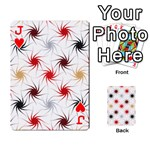 Pearly Pattern Playing Cards 54 Designs  Front - HeartJ