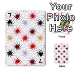 Pearly Pattern Playing Cards 54 Designs  Front - Spade7