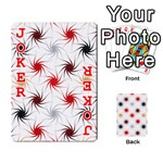 Pearly Pattern Playing Cards 54 Designs  Front - Joker2