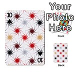 Pearly Pattern Playing Cards 54 Designs  Front - Spade10