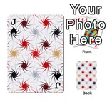 Pearly Pattern Playing Cards 54 Designs  Front - SpadeJ